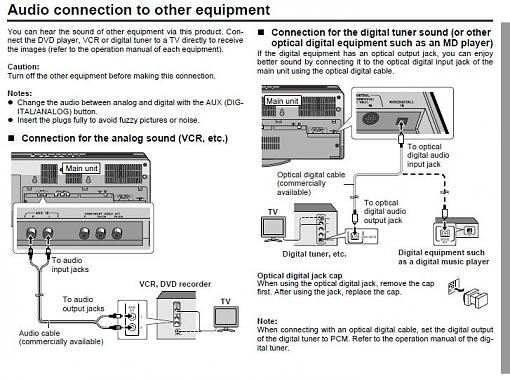 Can audio signal be routed thru HDTV then to receiver instead of straight to receiver-htx12.jpg